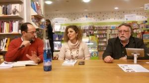 Con me, a destra di Lara Vanni, l'editore Stefano Mecenate